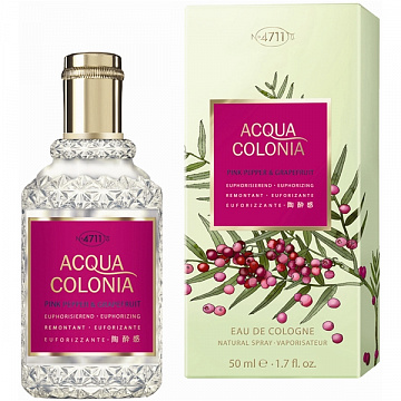 Maurer & Wirtz - 4711 Aqua Colognia Pink Pepper & Grapefruit